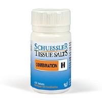 Schuessler Combination H Tissues Salts 125 tablet