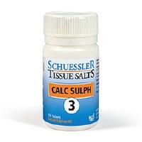 Schuessler Calc Sulph No 3 125 tablet