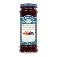 St Dalfour Cran & Blueberry Fruit Spread 284g