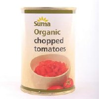 Suma Wholefoods Organic Chopped Tomatoes 1x400g