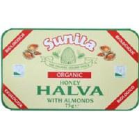 Sunita Org Almond Honey Halva 75g