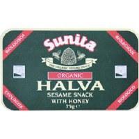 Sunita Org Plain Honey Halva 75g