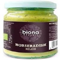 Biona Organic Horseradish Relish 125g