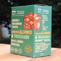 The Foods Of Athenry GF Almond Rosemary Toasts 110g