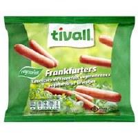 Tival Tivall Vegetarian Frankfurters 300g