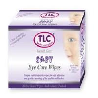 TLC Eye Care Wipes Baby 20wipes
