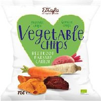 Trafo Chips Fried in Coconut Oil 100g