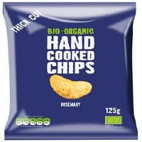 Trafo Organic Rosemary & Salt Crisps 125g