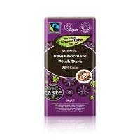 The Raw Chocolate Company Org Pitch Dark Raw Choc Bar 38g