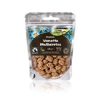 The Raw Chocolate Company Org Vanoffee Mulberries 125g