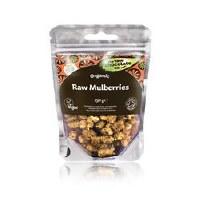 The Raw Chocolate Company Organic White Mulberries 150g