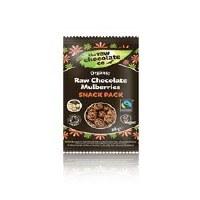 The Raw Chocolate Company Raw Chocolate Mulberries 28g