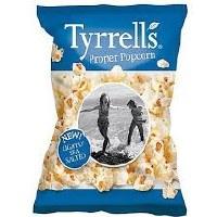 Tyrrells Popcorn Simply Sea Salted 70g