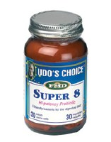 Savant Distribution Udos Choice Super 8 Probiotic 30 Capsules