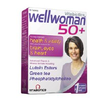 Vitabiotic Wellwoman 50+ 30 tablet