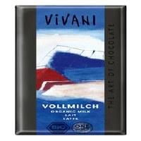 Vivani Fine Milk Chocolate 33% 100g
