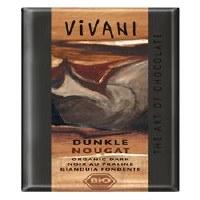 Vivani Dark Nougat Chocolate 100g
