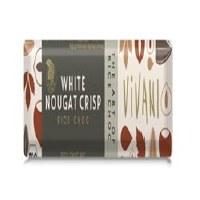 Vivani White Nougat Crisp - Rice Choc 35g