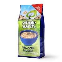 Whole Earth Organic Muesli 750g