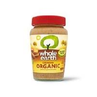 Whole Earth Crunchy Organic Peanut Butter 340g