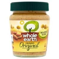 Whole Earth Crunchy Peanut Butter 227g