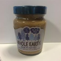 Whole Earth 100% Peanuts Smooth Organic 227g