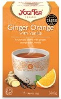 Yogi Tea Ginger Orange with Vanilla Tea 17bag