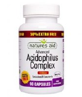 Natures Aid Promotional Packs Acidophilus Complex 5 Billion 90 capsule