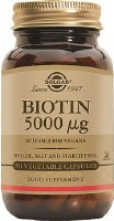Solgar Biotin 5000 g Vegetable Caps 100
