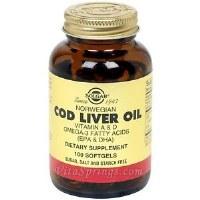 Solgar Cod Liver Oil Softgels 100