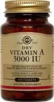Solgar Dry Vitamin A 5000 IU Tablets 100