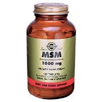 Solgar MSM 1000 mg Tablets 120