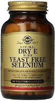 Solgar Vitamin E with Yeast Free Sele 100
