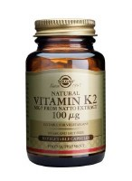 Solgar Vitamin K2 100 g Vegetable C 50