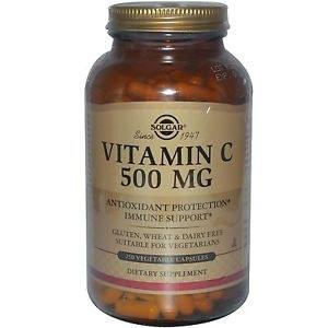 Solgar Vitamin C 500 mg Vegetable Cap 100