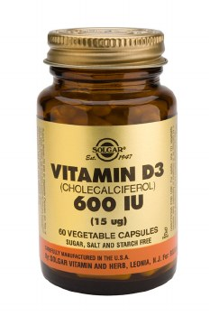 Solgar Vitamin D3 600 IU (15 g) Veg 120