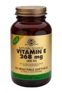 Solgar Vitamin E 268 mg (400 IU) Vege 100