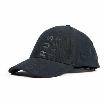 Debossed Cap Black