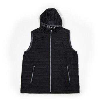 Full Zip Vest Black L