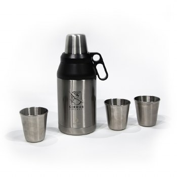 Growler and 4 Cups