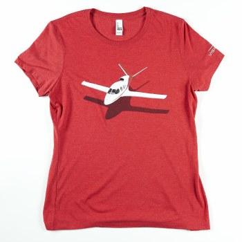 Ladies 3D Jet Tee XS
