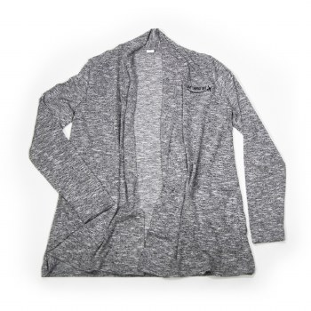 Ladies Cardi Wrap Grey XS
