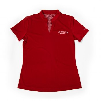 Ladies Nike Hex Polo Red S