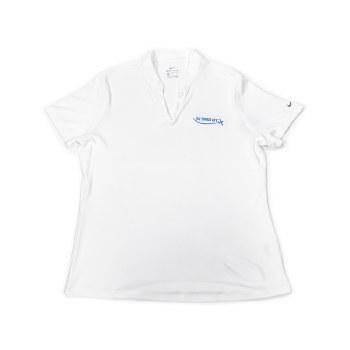 Ladies Nike Hex Polo White S