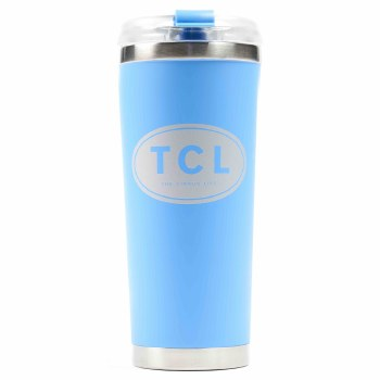 Large Insulated Beverage Blue