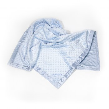 Luxury Baby Blanket Blue