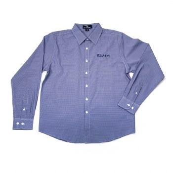 Mens Check Dress Shirt NV S