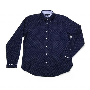 Mens Hilfiger Dot Shirt NV S