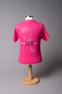 Adult Chute Tee Pink S