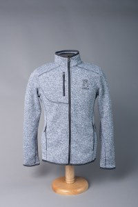Men's Sweater Jkt Light Grey S